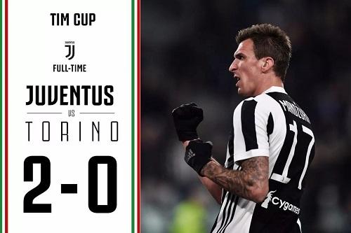 Juventus vinner Turin inn i de øverste fire i den italienske cupen