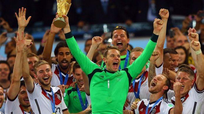 Tyskland annonserer 2018 VM-forsvarsbonuser